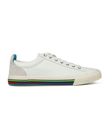 PS Paul Smith Mens White Hooper Trainer