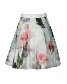 Ted Baker Womens Beige Vanta Burnout Chatsworth Skirt