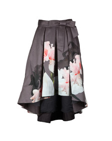 Ted Baker Womens Grey Thali Chatsworth Full Midi Skirt