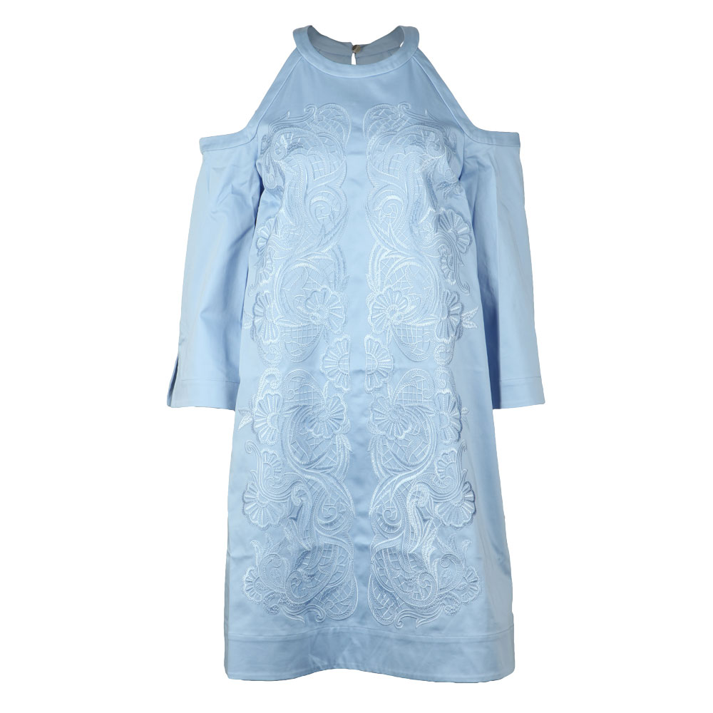 Jettas Cut Out Shoulder Cotton Dress main image