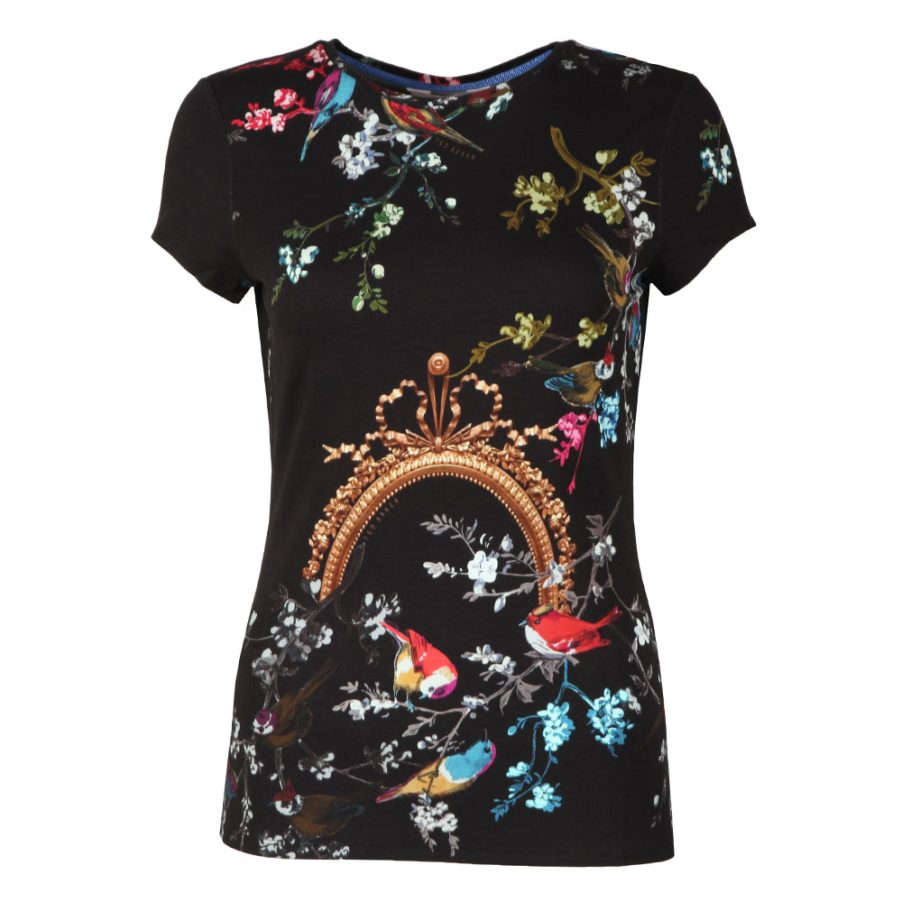 Raynee Opulent Fauna Fitted Tee main image