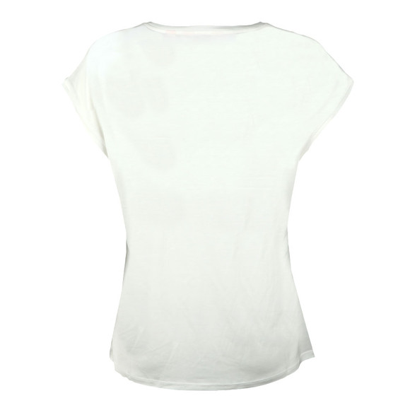 Ted Baker Womens White Mellini Chatsworth Bloom Woven Tee main image