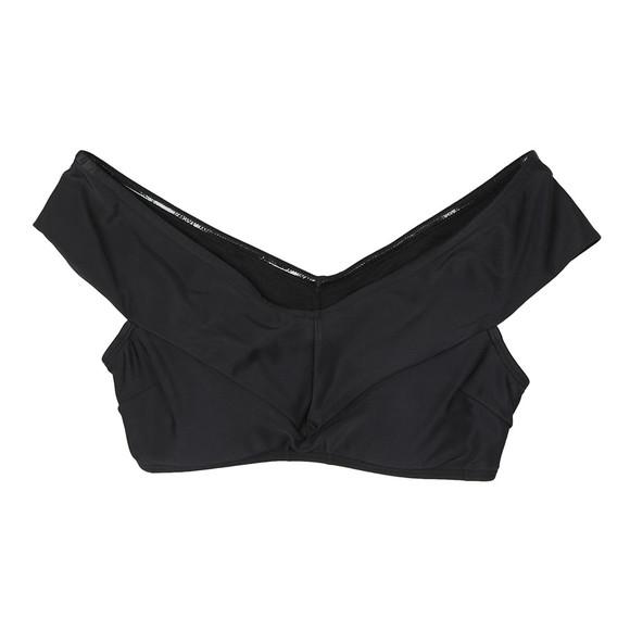 Ted Baker Womens Black Raffo Off Shoulder Wrap Bikini Top main image