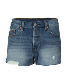 Levi's Womens Blue 501 Short