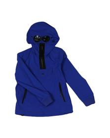 CP Company Undersixteen Boys Blue Protek Goggle Jacket