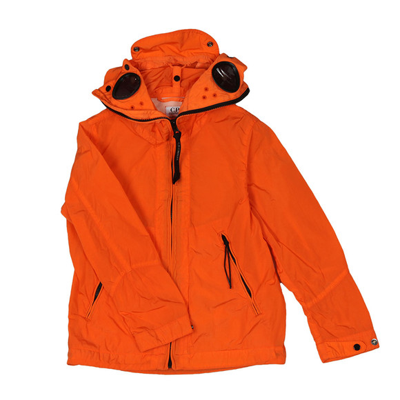 CP Company Undersixteen Boys Orange Chrome Split Goggle Jacket main image