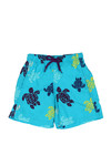 Vilebrequin Boys Blue Multicoloured Turtle Swim Short