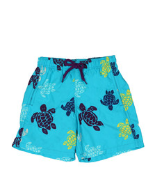 Vilebrequin Boys Blue Boys Multicoloured Turtle Swim Short