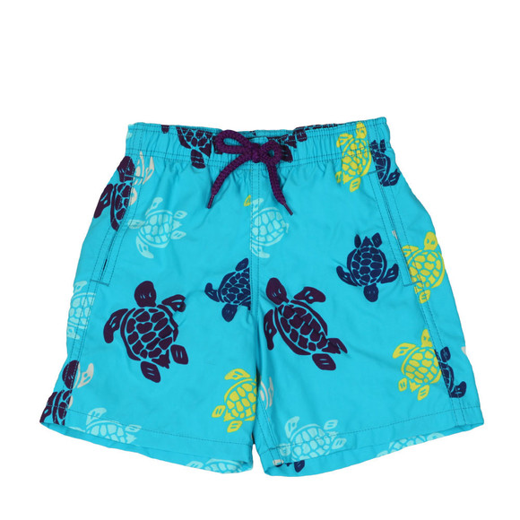 Vilebrequin Boys Blue Multicoloured Turtle Swim Short main image