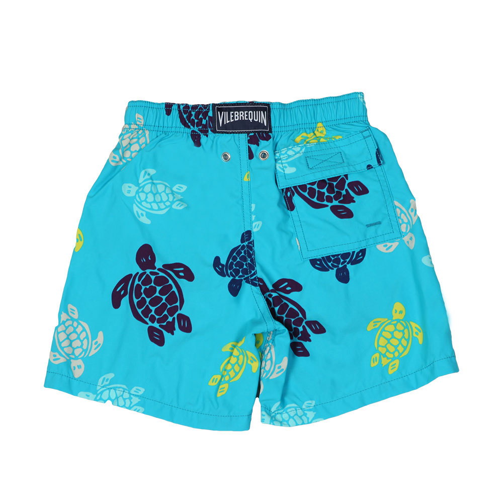Multicoloured Turtle Swim Short main image