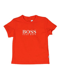 Boss Boys Orange Baby J05611 Logo T Shirt