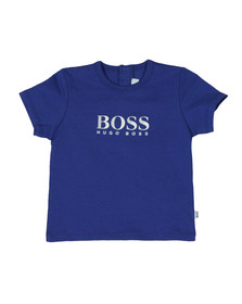 Boss Boys Blue Baby J05611 Logo T Shirt