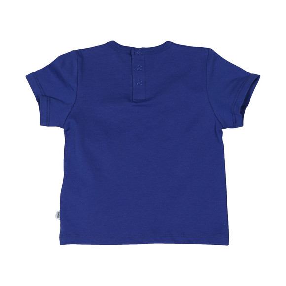BOSS Bodywear Boys Blue Baby J05611 Logo T Shirt main image