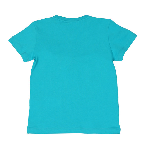 EA7 Emporio Armani Boys Blue Small  Logo T Shirt main image