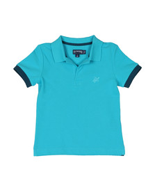 Vilebrequin Boys Blue Boys Pantin Pique Polo Shirt