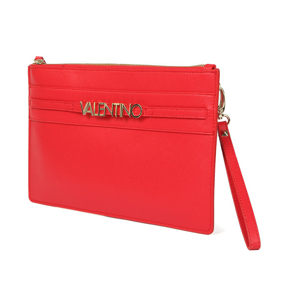 Valentino by Mario Womens Red Sea Clutch Bag main image