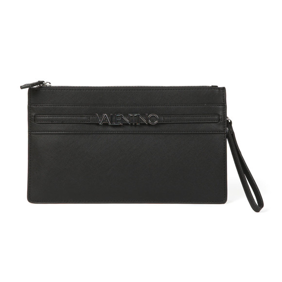 Valentino by Mario Womens Black Sea Clutch Bag main image