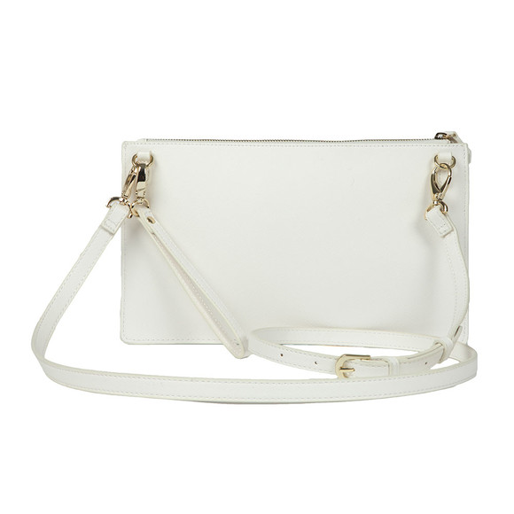 Valentino by Mario Womens White Sea Clutch Bag main image