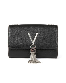 Valentino by Mario Womens Black Divina Clutch Bag