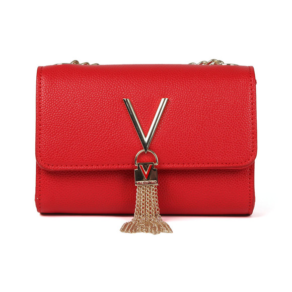 Valentino by Mario Womens Red Divina Clutch Bag main image