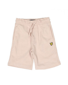 Lyle And Scott Junior Boys Dusty Pink Classic Jogger Short