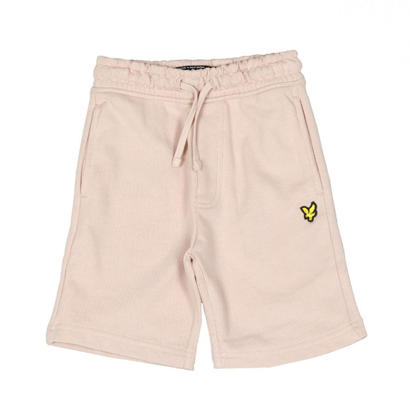 Lyle And Scott Junior Boys Pink Classic Jogger Short main image