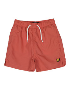 Lyle And Scott Junior Boys Red Classic Swim Short