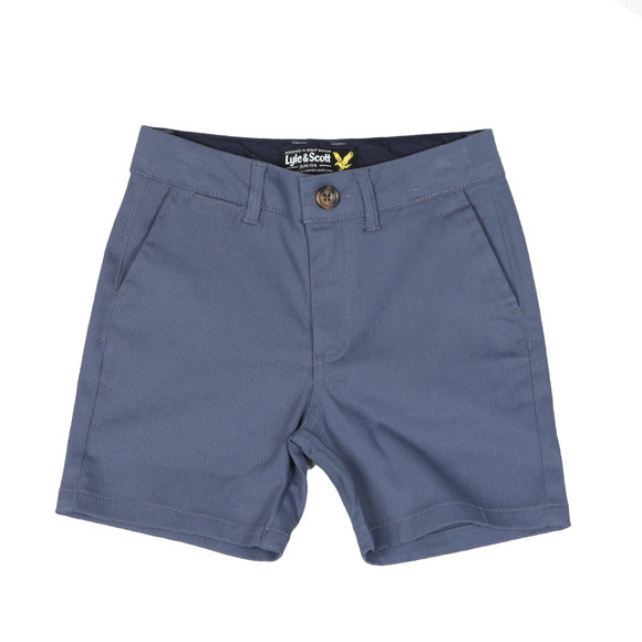 Lyle And Scott Junior Boys Vintage Indigo Classic Chino Short main image