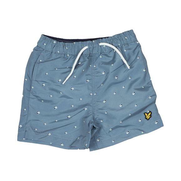 Lyle And Scott Junior Boys Blue Boys Beachball Print Swim Short main image