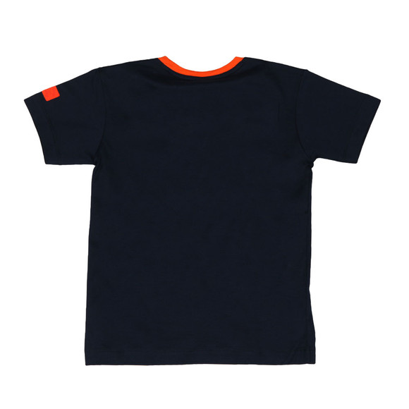 Paul & Shark Cadets Boys Blue Ringer T Shirt main image