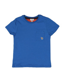 Paul Smith Junior Boys Blue Real Pocket T Shirt