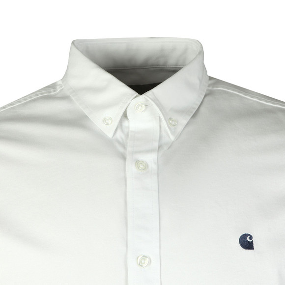 Carhartt WIP Mens White Madison Shirt main image