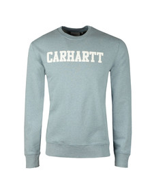 Carhartt Mens Blue College Crew Sweat