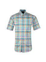 Madras Check Short Sleeve Shirt