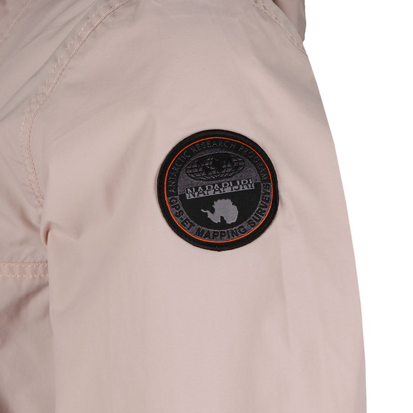 Napapijri Mens Pink Rainforest Summer Jacket main image