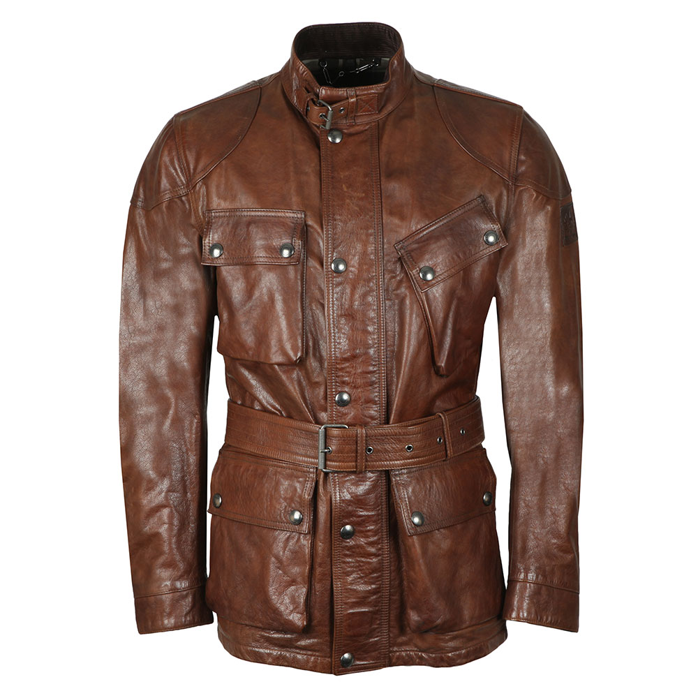 Panther 4 Pocket Leather Jacket main image
