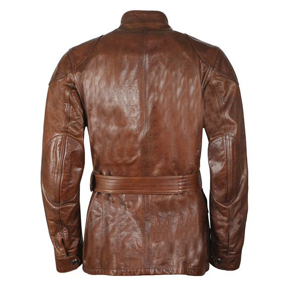 Belstaff Mens Brown Panther 4 Pocket Leather Jacket main image