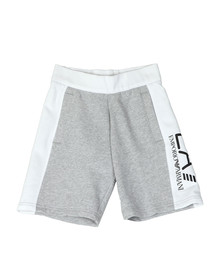EA7 Emporio Armani Boys Grey Side Logo Sweashorts