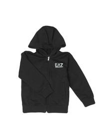 EA7 Emporio Armani Boys Black Small Logo Tracksuit