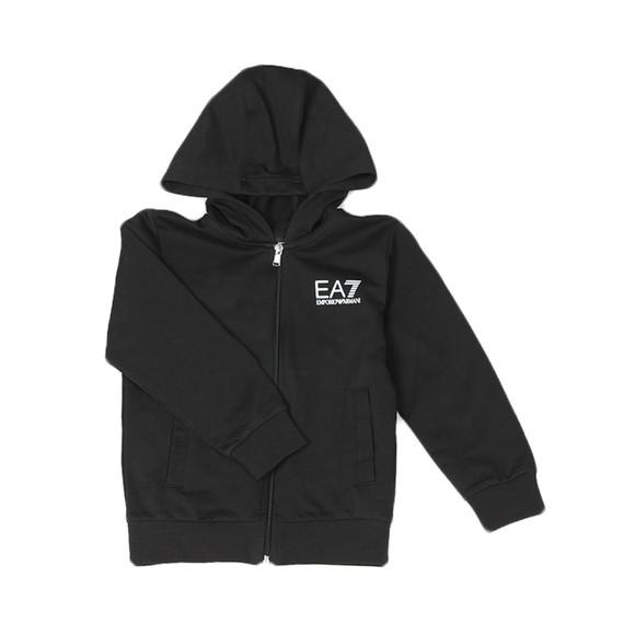 EA7 Emporio Armani Boys Black Small Logo Tracksuit main image