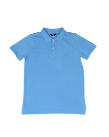 Gant Boys Blue Original Pique Polo Shirt