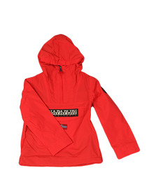 Napapijri Boys Red Rainforest Summer Jacket