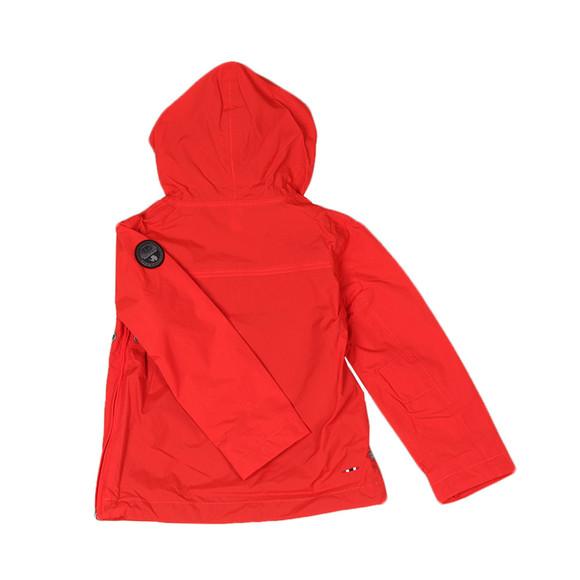 Napapijri Boys Red Rainforest Summer Jacket main image