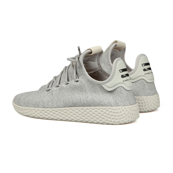 Adidas Originals Mens Grey Pharrell Williams Tennis HU Trainer main image