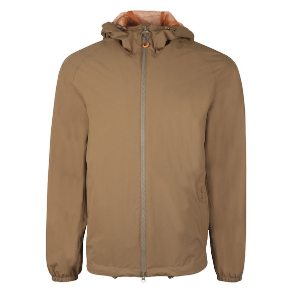 Barbour Lifestyle Mens Green Irvine Hooded Jacket main image