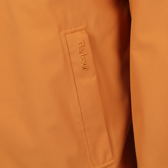 Barbour Lifestyle Mens Orange Irvine Hooded Jacket
