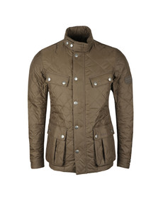 Barbour International Mens Green Ariel Quilted Jacket