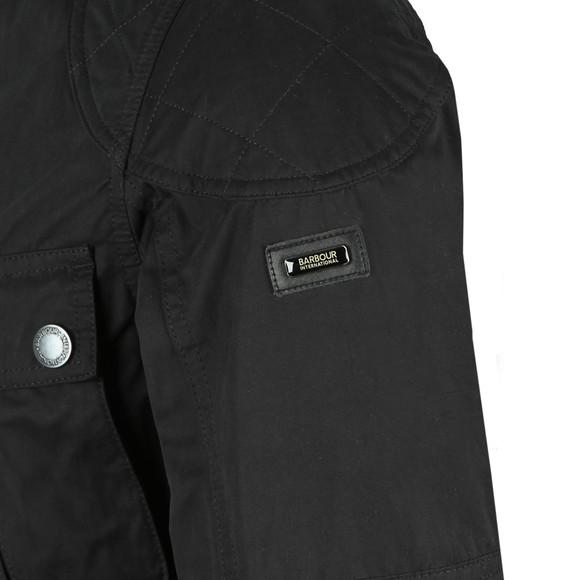Barbour International Mens Blue Lockseam Casual Jacket main image