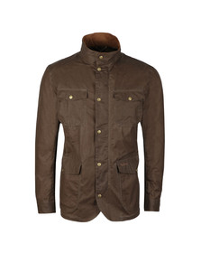 Barbour Lifestyle Mens Brown Ogston Lightweight Wax Jacket