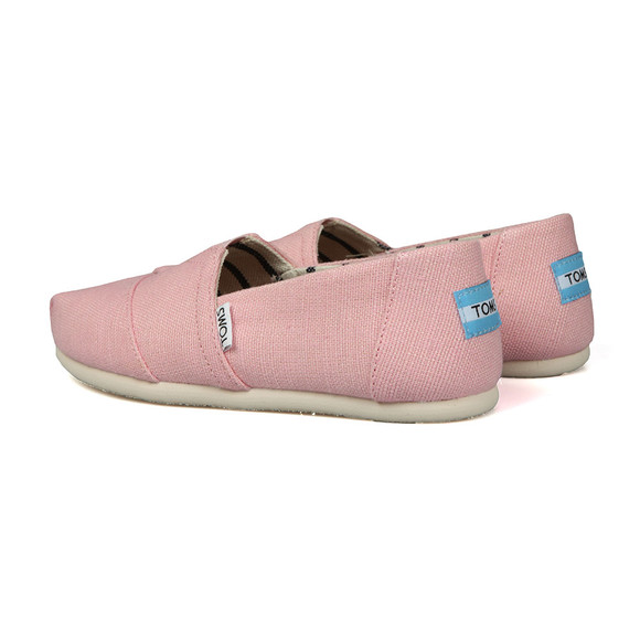 Toms Womens Pink Heritage Canvas main image
